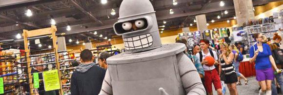 Bender approves of NERDVANA's event recommendations!