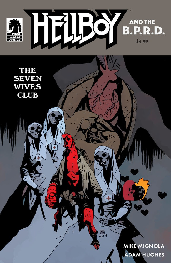 Mignola and Hughes reuniting for Hellboy & the B.P.R.D.: The Seven Wives Club one-shot