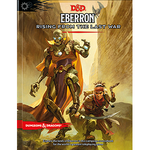 D&D Eberron sourcebook cover art changed