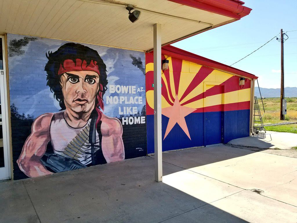 No place like home: Bowie, Arizona, proclaims Sept. 18 'Rambo Day'