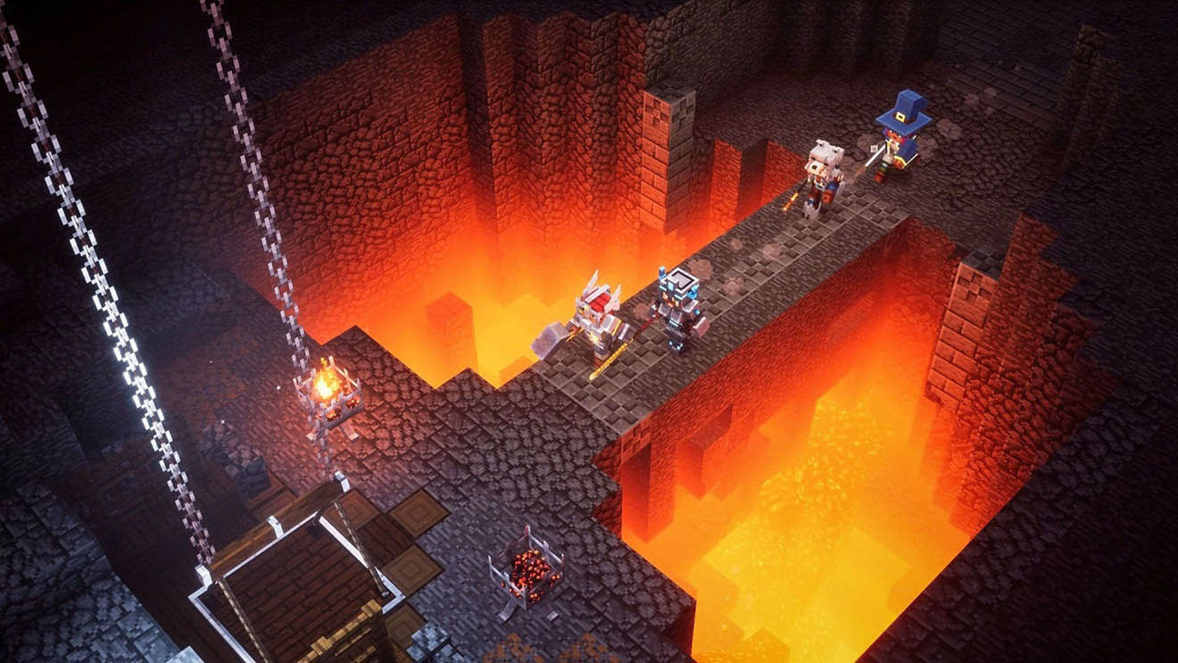 Minecraft Dungeons will be available on May 26.