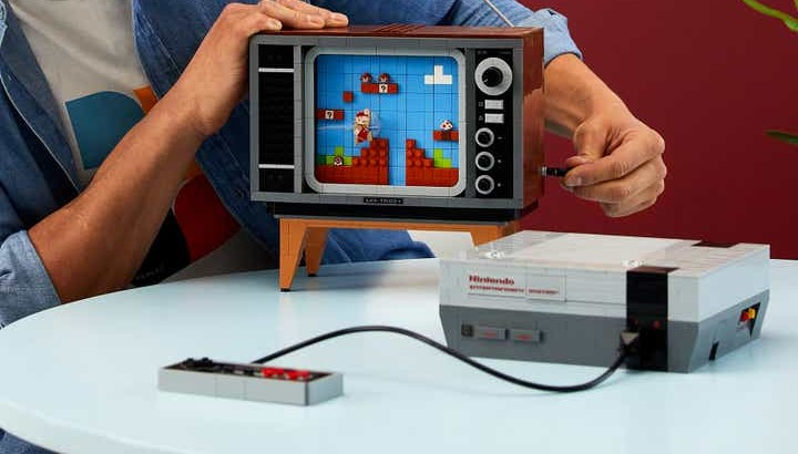 LEGO edition of classic Nintendo Entertainment System